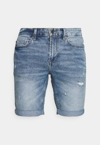 ONSPLY LIFE BLUE  - Denim shorts - blue denim