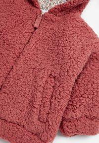 Next - FLEECE HOODY - Fleece jacket - pink - 2