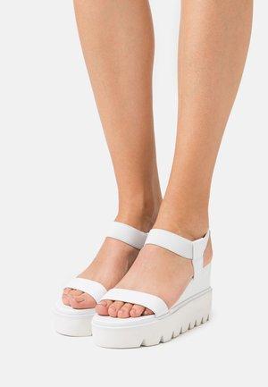 LAURY - High Heel Sandalette - white