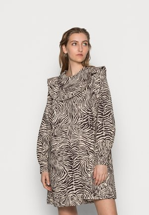 ODETTE DRESS - Freizeitkleid - choco