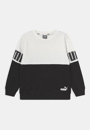 POWER COLORBLOCK CREW UNISEX - Sweatshirt - white