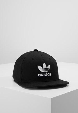 Snapback Trefoil Cap - Kšiltovka - black/white