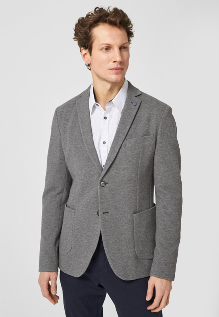 s.Oliver BLACK LABEL - Blazer jacket - light grey