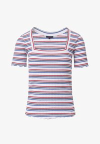 Salsa - FRANCE BODYCON - Print T-shirt - blue / red / white - 5