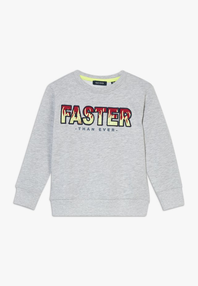 KIDS GREY FAST FLAMES  - Sweatshirt - nebel orig