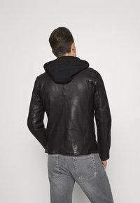 Freaky Nation - BE READY - Leather jacket - black - 2