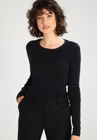 J.CREW - SLIM PERFECT  - Long sleeved top - black - 0