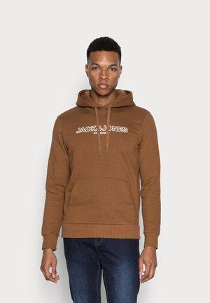 JJBANK - Hoodie - brown