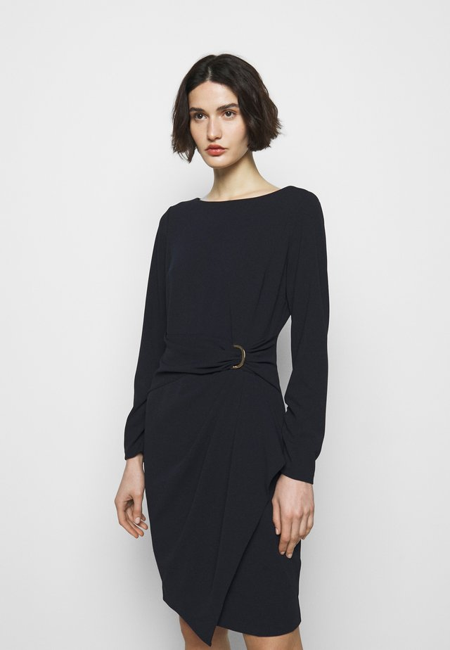 Sukienka z dżerseju - midnight