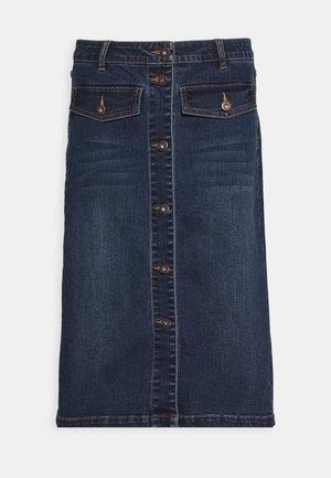 KAEARLENA SKIRT - A-line skirt - blue denim