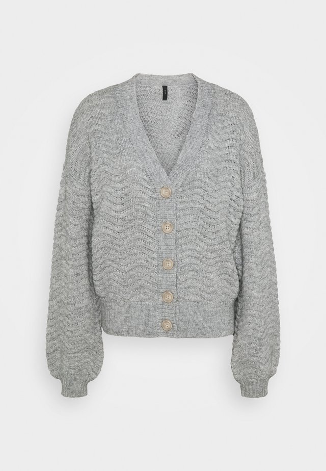 YASBETRICIA CARDIGAN  - Gilet - light grey melange