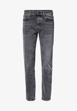3301 STRAIGHT - Džíny Straight Fit - antic charcoal