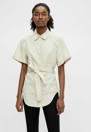 OBJAUBREY TWILL 2/4 - Camisa - sandshell