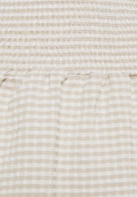 Noisy May Petite - NMFENJA SMOCK SKIRT - Mini skirt - snow white - 2