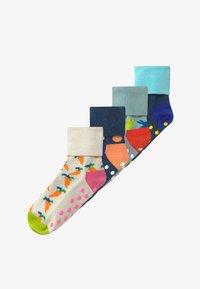 Happy Socks - KIDS BIG DOT 4 PACK - Socks - blue - 3
