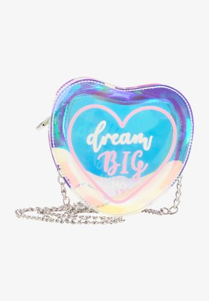 DREAM BIG - Across body bag - rosa holo