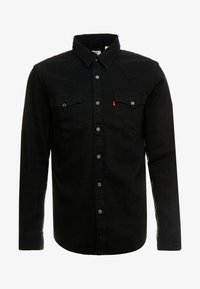 Levi's® - BARSTOW WESTERN STANDARD - Camicia - marble black denim rinse - 3