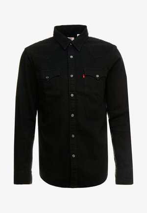BARSTOW WESTERN STANDARD - Camicia - marble black denim rinse