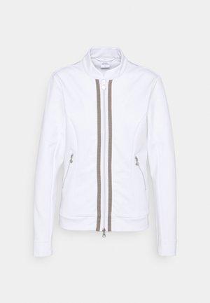 GLADIE JACKET - Zip-up sweatshirt - white