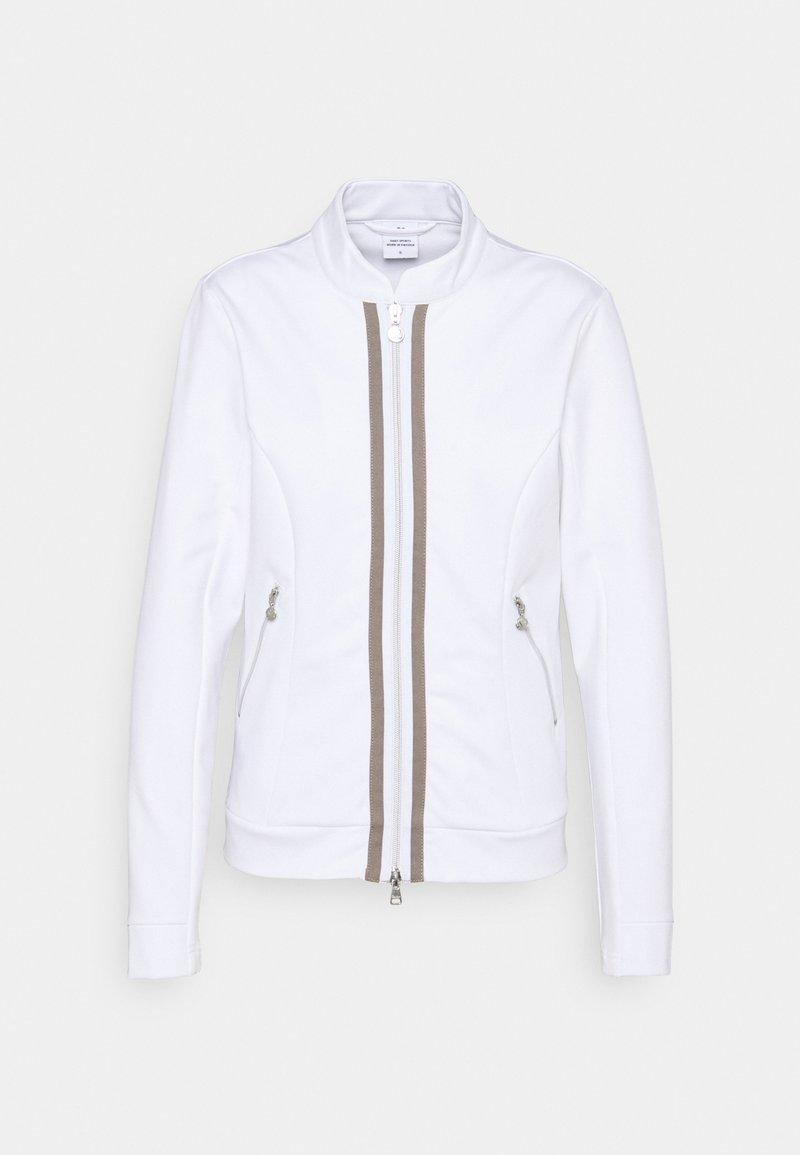 Daily Sports - GLADIE JACKET - Zip-up sweatshirt - white