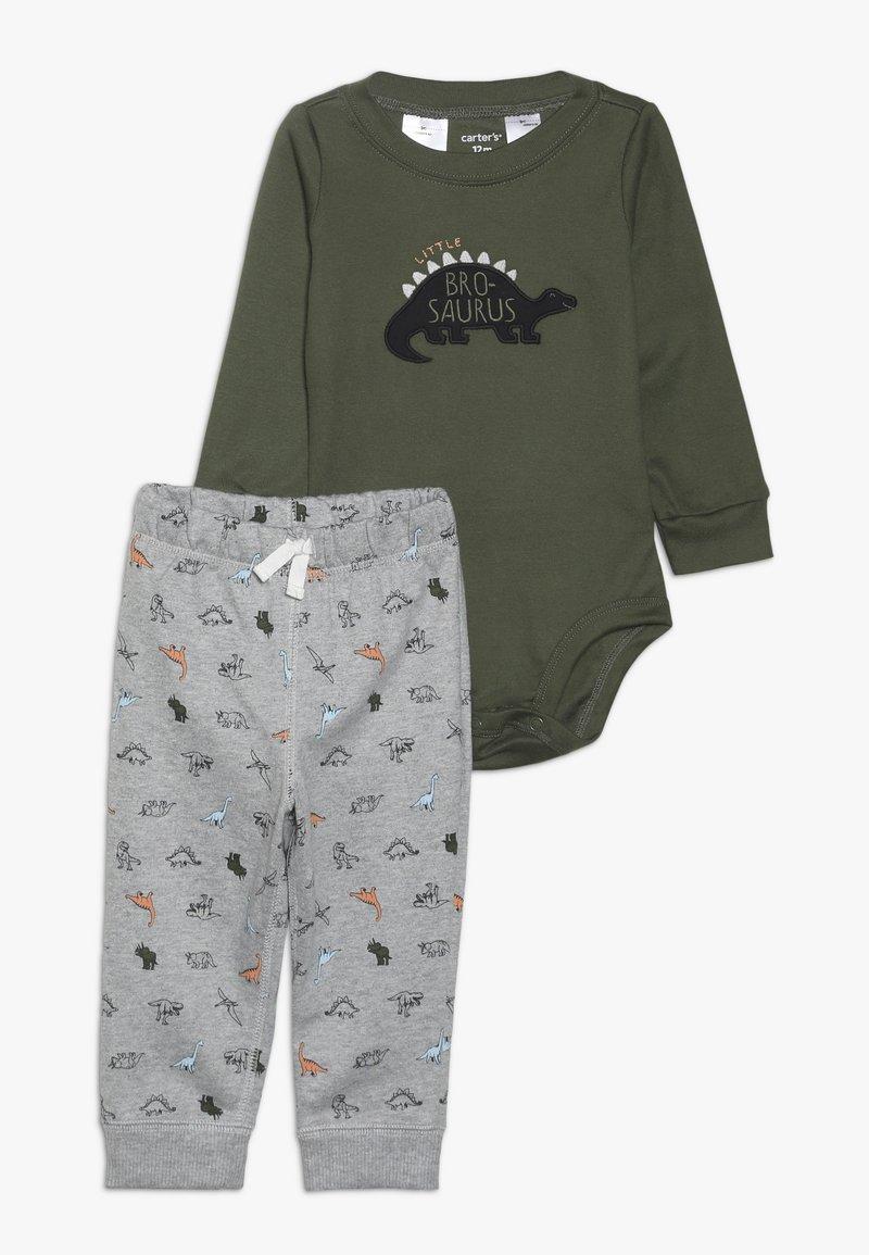 Carter's - BABY SET - Pantalon de survêtement - green