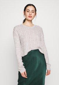 New Look - BASIC - Jersey de punto - light grey - 0
