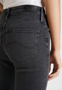 Lee - SCARLETT HIGH - Jeans Skinny Fit - black bucklin - 5
