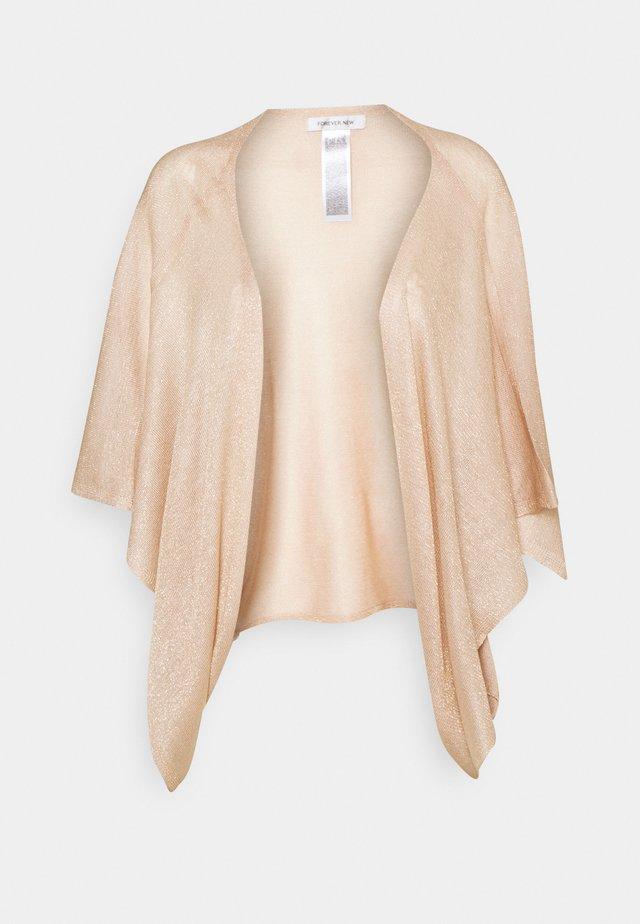 ROSALIE KIMONO - Cardigan - rose gold