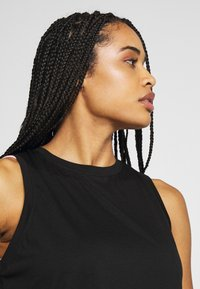 Cotton On Body - ACTIVE ROUCHED MUSCLE TANK - Topper - black - 3