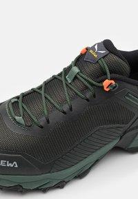 Salewa - MS ULTRA TRAIN 3 - Trail running shoes - raw green/black out - 5