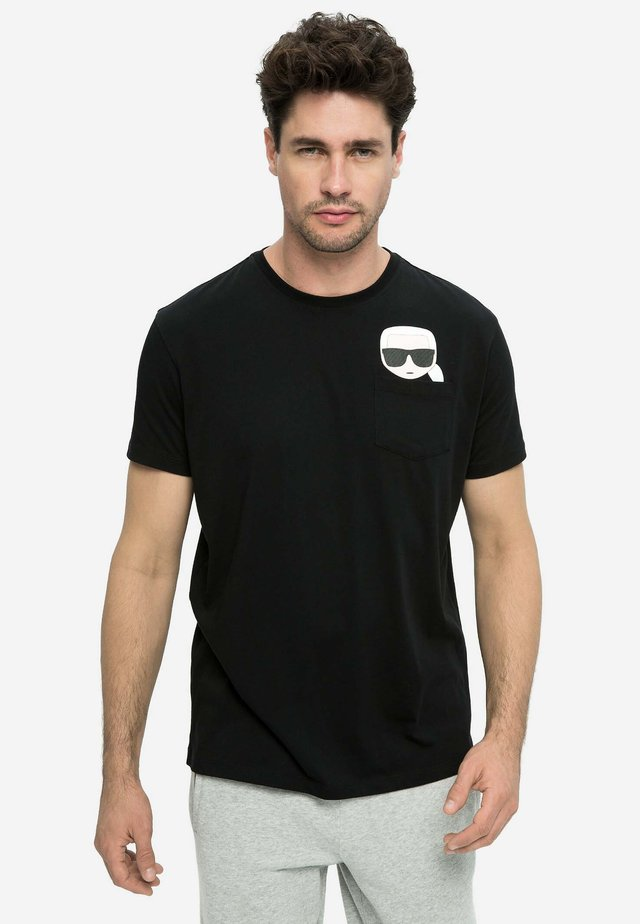 IKONIK - T-shirt print - black