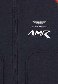 Hackett London - AMR MOTO - Zip-up hoodie - navy/red - 3