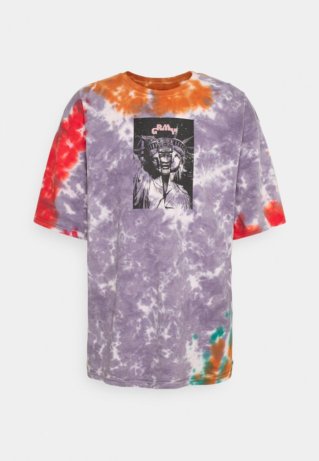 UNISEX LIVEUTION MAGIC TIE DYE TEE - T-shirt print - multi-coloured