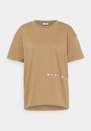 SHORTSLEEVE ROUNDNECK PRINTS - Print T-shirt - milky coffee