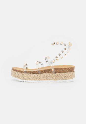 KAILEE - Espadrilles - clear