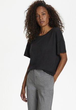 T-shirt basic - meteorite