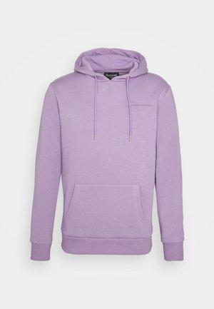 EMBROIDERED MINI SCRIPT LOGO HOODY - Sweater - dusty purple