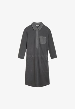 Shirt dress - dunkelgrau