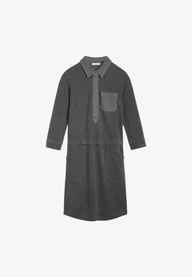 Shirt dress - dunkelgrau