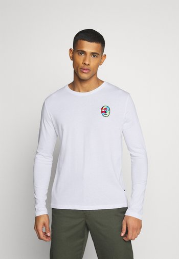 UNISEX - Long sleeved top - white