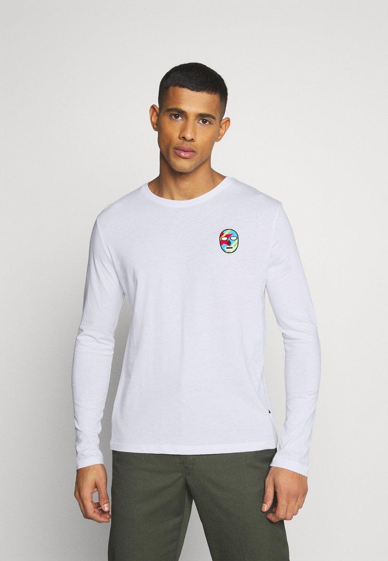 YOURTURN - UNISEX - Bluzka z długim rękawem - white