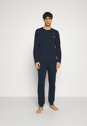 TROUSERS - Pyjamasbyxor - blu navy