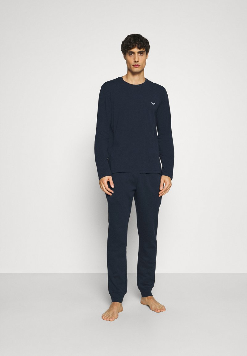 Emporio Armani - TROUSERS - Pyjama bottoms - blu navy