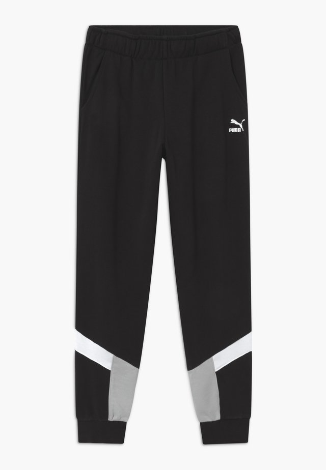 ANIMALS - Tracksuit bottoms - black