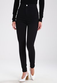 Noisy May - NMELLA SUPER  - Jeans Skinny - black - 0