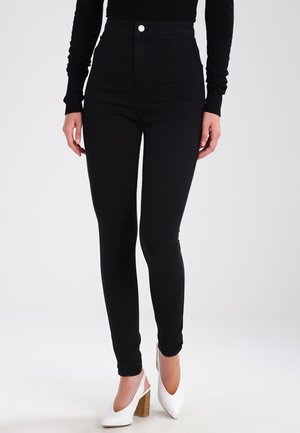 NMELLA SUPER  - Jeans Skinny Fit - black