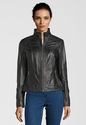 TINI - Leather jacket - black