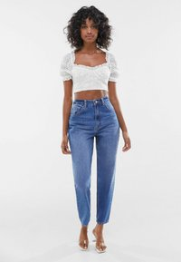 Bershka - WITH BOW  - Blouse - off white - 1
