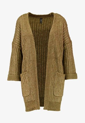 YASSUNDAY CARDIGAN - Kardigan - military olive