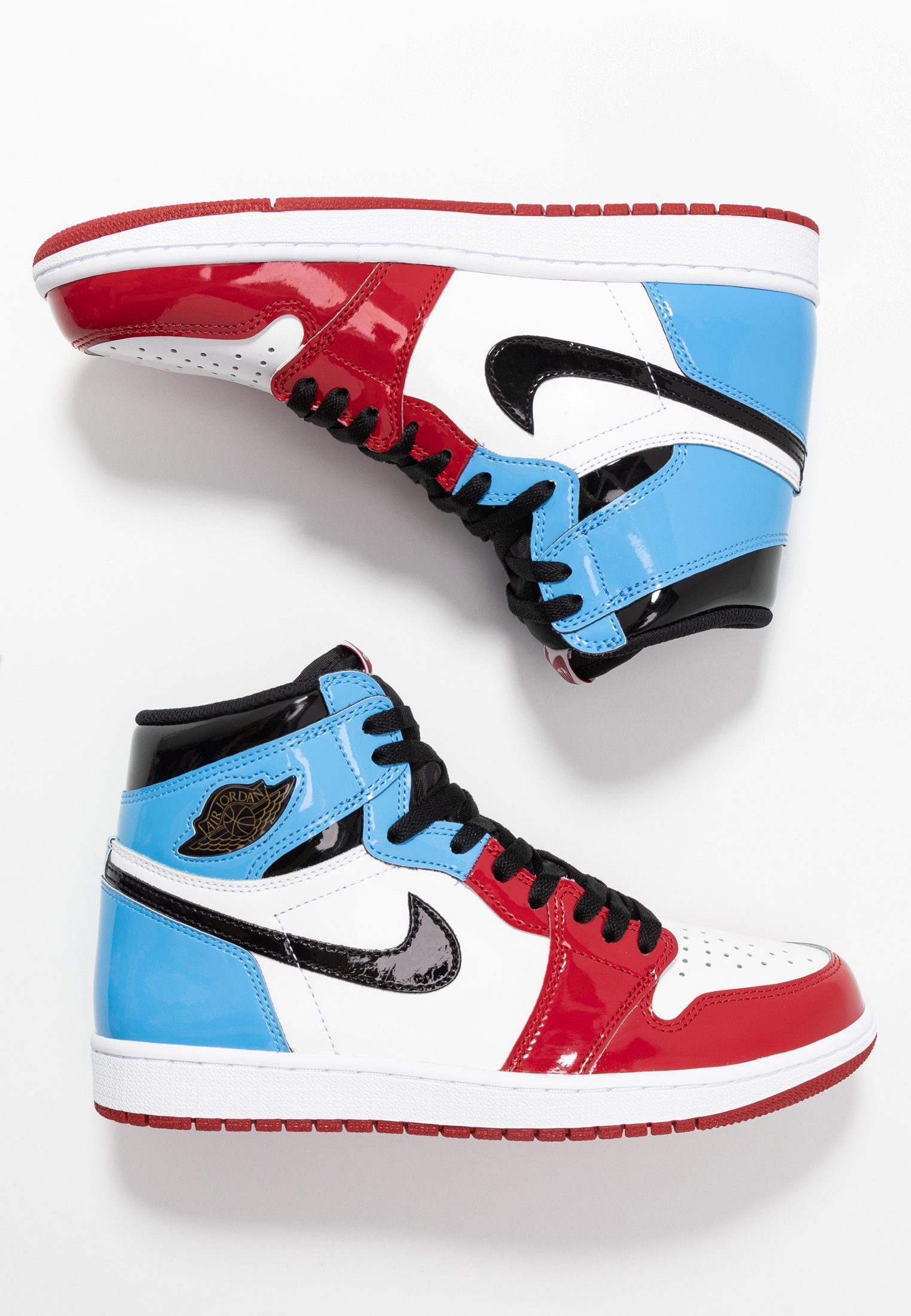 AJ1 RETRO HIGH FEARLESS - Sneakers alte - white